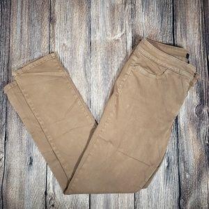NYDJ brown leggings size 12
